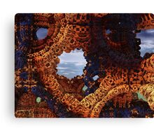 Holes Back To Reality Canvas Print