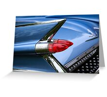 1959 Cadillac Taillight Greeting Card