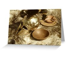 Re-enactment still life Greeting Card