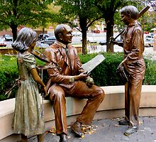 Sculpture Plaza by Marie Sharp