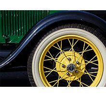 Model A Curves Photographic Print