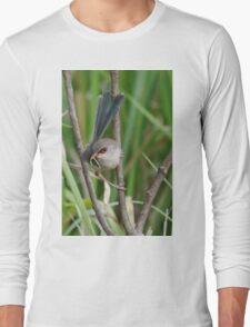 A female Variegated Fairy-Wren Long Sleeve T-Shirt
