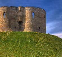 Castle Mound: City of York UK by DonDavisUK
