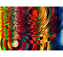 Holes Photographic Print
