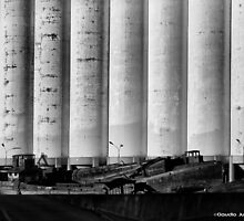 Grain Silos- Buenos Aires by CJVisions