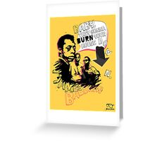New James Baldwin (now with more 'tude) Greeting Card