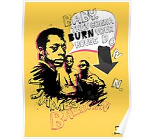 New James Baldwin (now with more 'tude) Poster