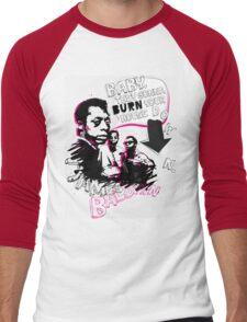New James Baldwin (now with more 'tude) Men's Baseball ¾ T-Shirt