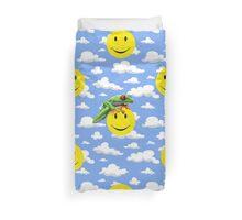 Smiley Blue Skies Duvet Cover Duvet Cover
