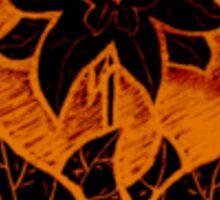 Firebloom Sticker
