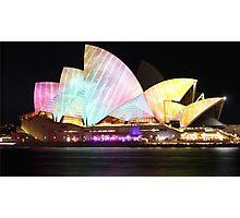 Sydney Opera House - Vivid 2014 Photographic Print