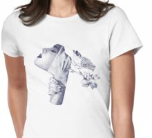 Collage Womens Fitted T-Shirt