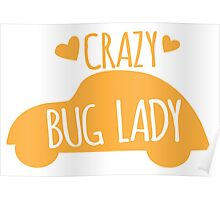 Crazy Bug Lady Poster