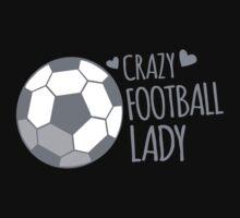 Crazy Football Lady by jazzydevil