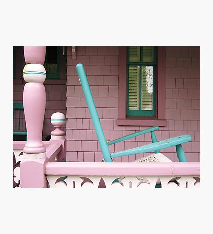 The old rocking chair Photographic Print
