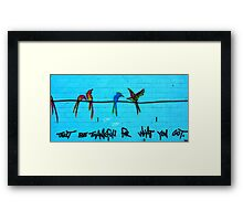 Just Be Thankfull For What You Got. Framed Print