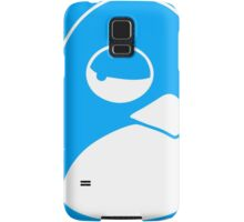 TUX Penguin in a bad mood, LINUX  Samsung Galaxy Case/Skin