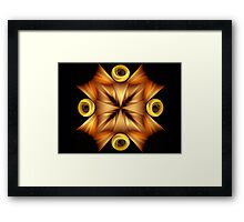 Wrapping tricks Framed Print