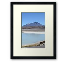 in to the void Framed Print