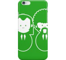 Pulp Fiction Vince & Jules Cartoons iPhone Case/Skin