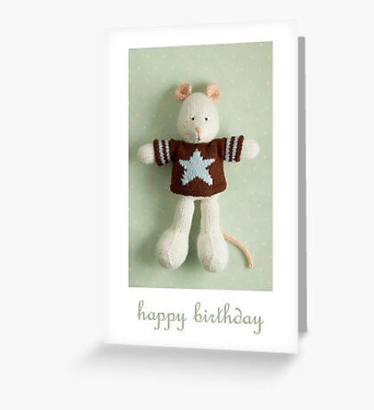 melville birthday Greeting Card