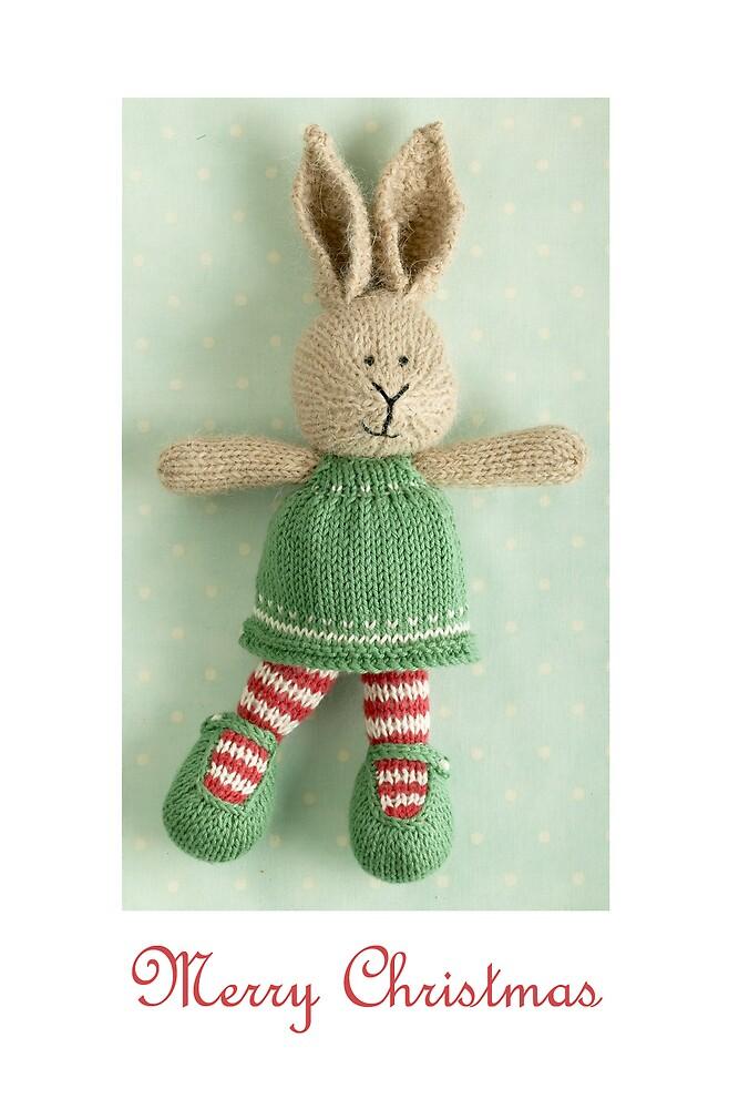 christmas bunny girl (2) by bunnyknitter