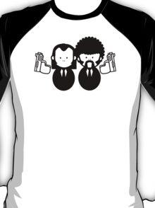 Pulp Fiction Vince & Jules Cartoons v.2.0 T-Shirt