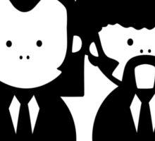 Pulp Fiction Vince & Jules Cartoons v.2.0 Sticker