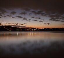A cold night on Lake Lanier (IV) by Bernd F. Laeschke
