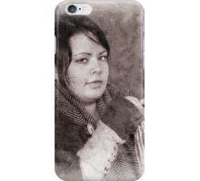 Viking in York #60, Agnes Jonsdottir iPhone Case/Skin
