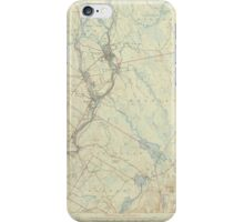 Maine USGS Historical Map Orono 306706 1946 62500 iPhone Case/Skin