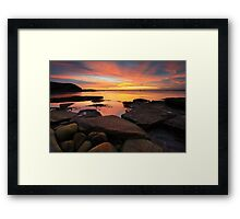 The Slow Dance of Time Framed Print