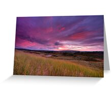 Dune Sunrise Inverness Beach NS Greeting Card