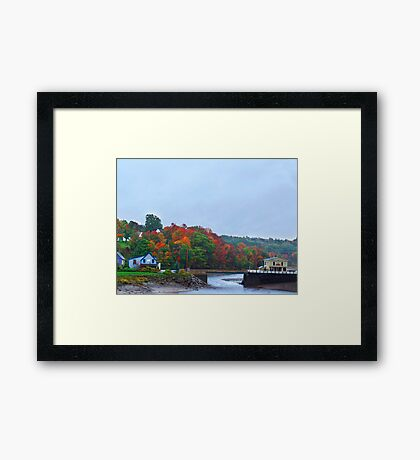 Bear River stream Framed Print