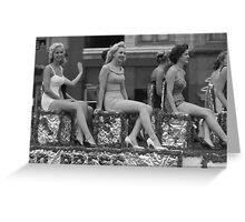 Vintage Chicago 012 Greeting Card
