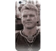 Viking in York #45, Jakub Piotrowski iPhone Case/Skin