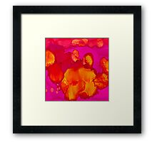 Inner Earth Framed Print