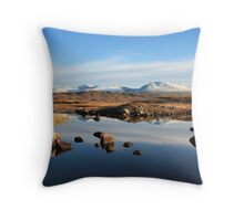 Rannoch Moor. Throw Pillow