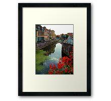 Bergues, near Dunkerque, France. Framed Print