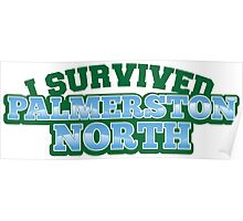 I Survived PALMERSTON NORTH (New Zealand) Poster