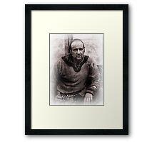 Viking in York #42, Ian Whitehouse Framed Print