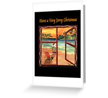 Have a Very Jerry Christmas Greeting Card