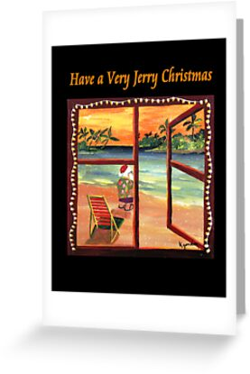 Have a Very Jerry Christmas by WhiteDove Studio kj gordon