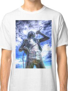 Bon Scott Statue -  HDR - Fremantle WA Classic T-Shirt