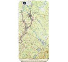 Maine USGS Historical Map Orono 460718 1946 62500 iPhone Case/Skin
