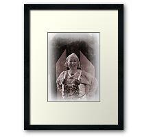 Viking in York #33, Catherine Stallybrass Framed Print