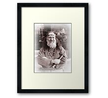 Viking in York #32, Anthony Hilbert Framed Print