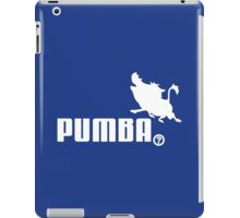 Pumba, Lion King vs. Puma iPad Case/Skin