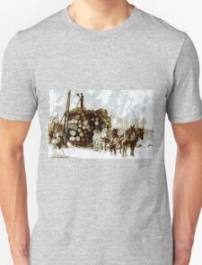 Logging, Park Rapids, Minnesota, USA - all products T-Shirt
