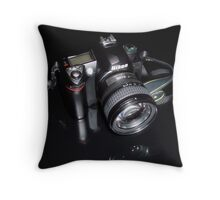 Nikon D70 Throw Pillow